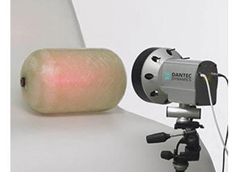 Speckle - Scherographie für die zerstörungsfreie Prüfung von Verbundwerkstoffen